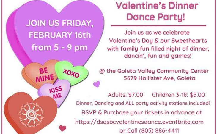 VALENTINE'S DINNER DANCE PARTY title=