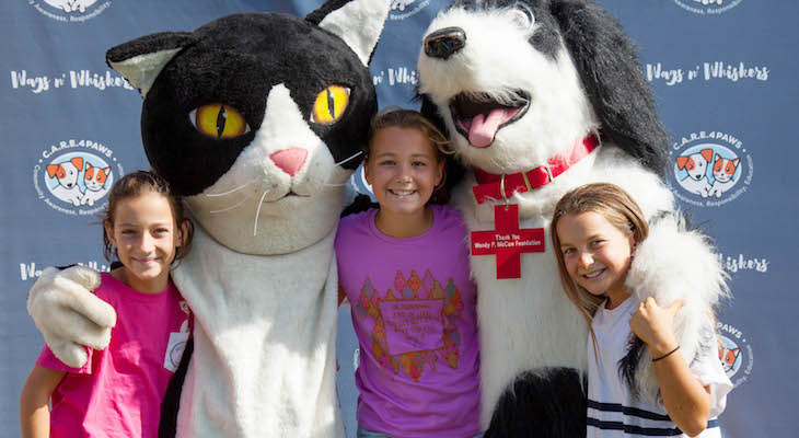 C.A.R.E.4Paws' Wags n' Whiskers Festival title=