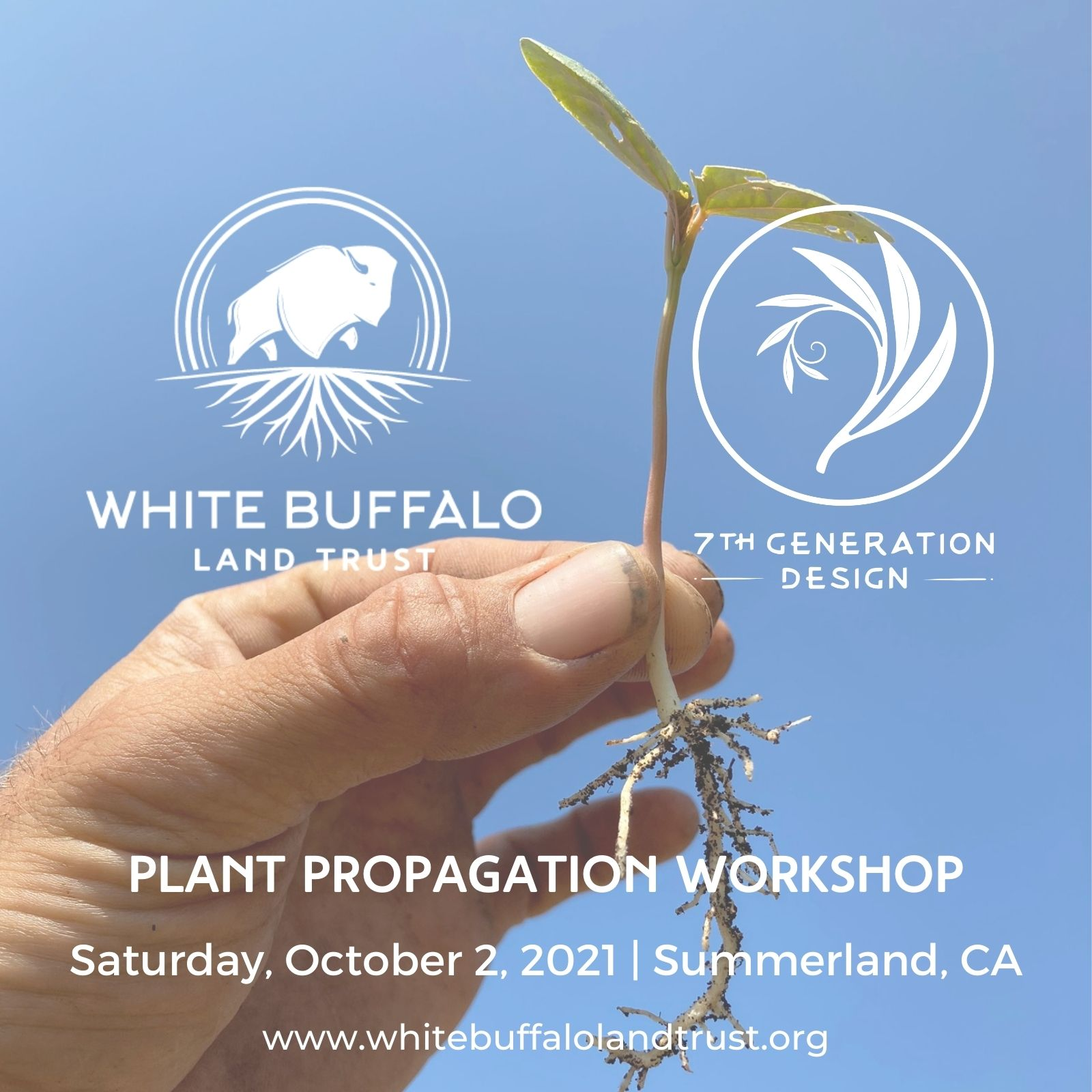 Plant Propagation Workshop at White Buffalo Land Trust  title=