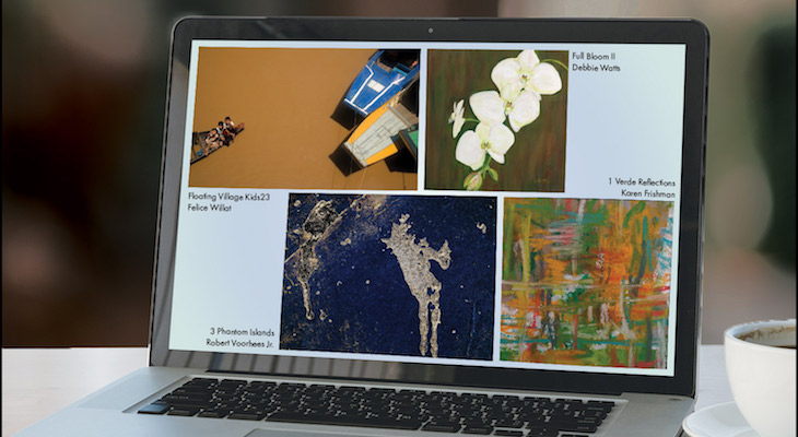 SBVA Meet The Artists LIVE Reception & Summer Virtual Exhibition  title=