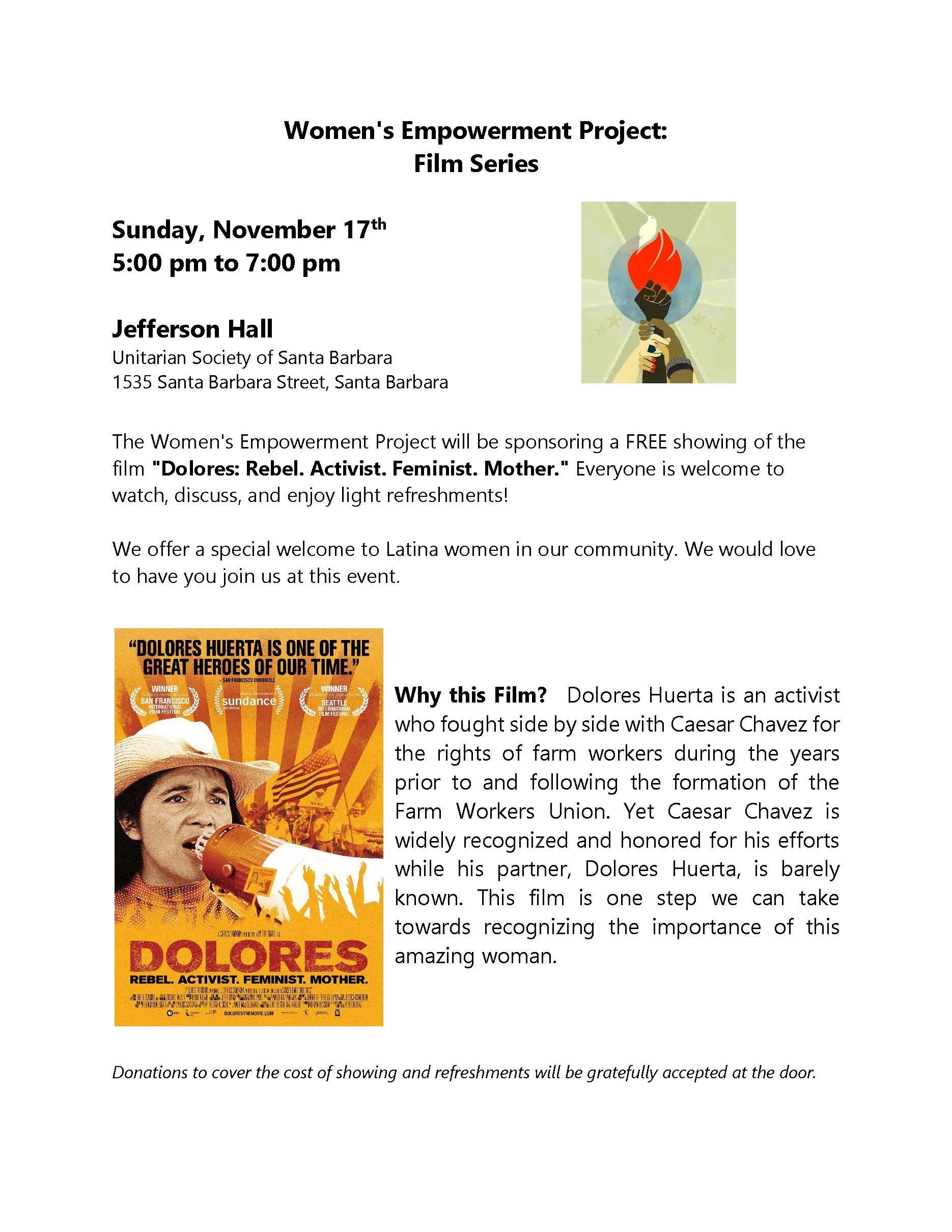 Free Film Screening: Dolores title=