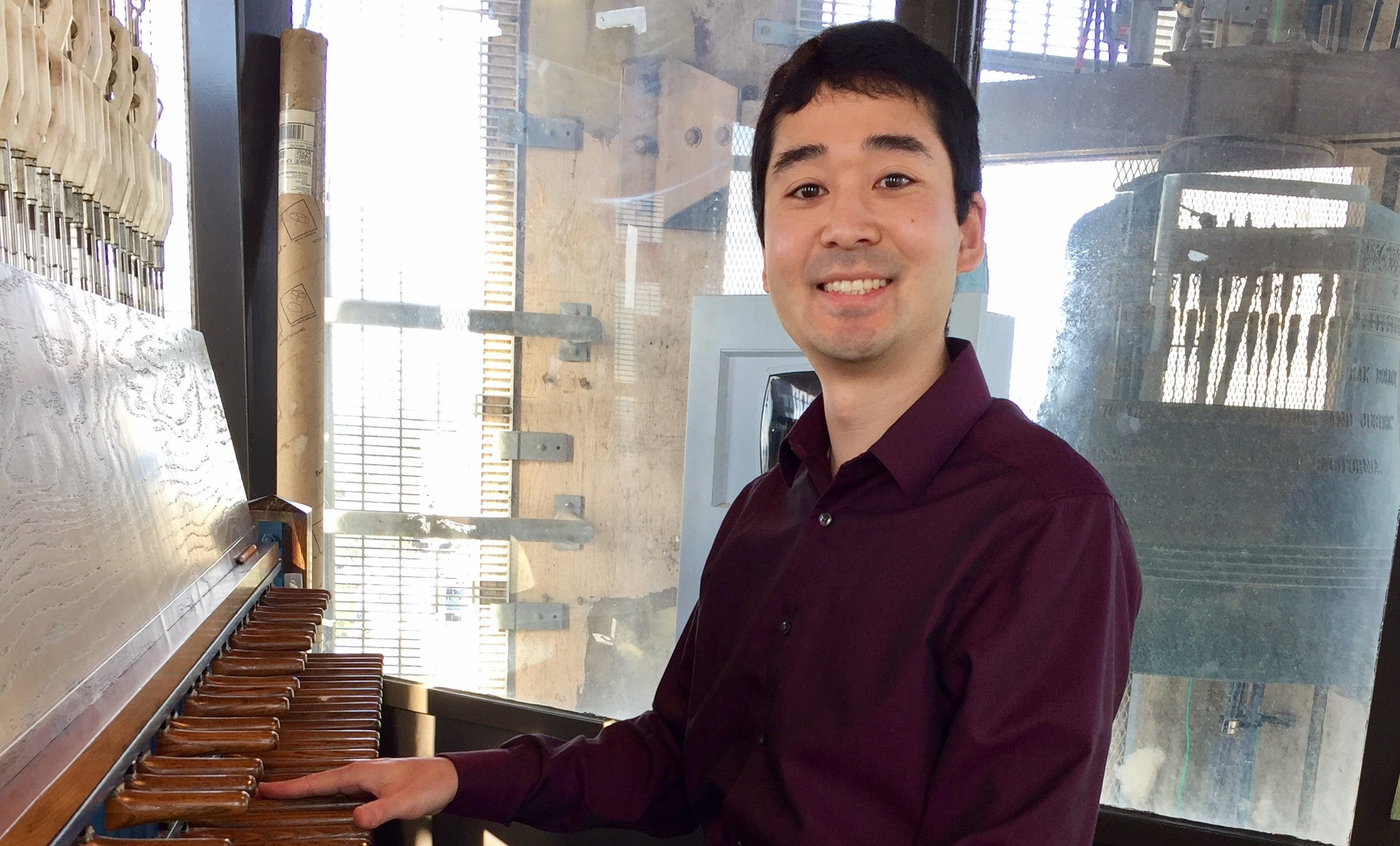 Faculty Artist Recital: Wesley Arai, carillon title=