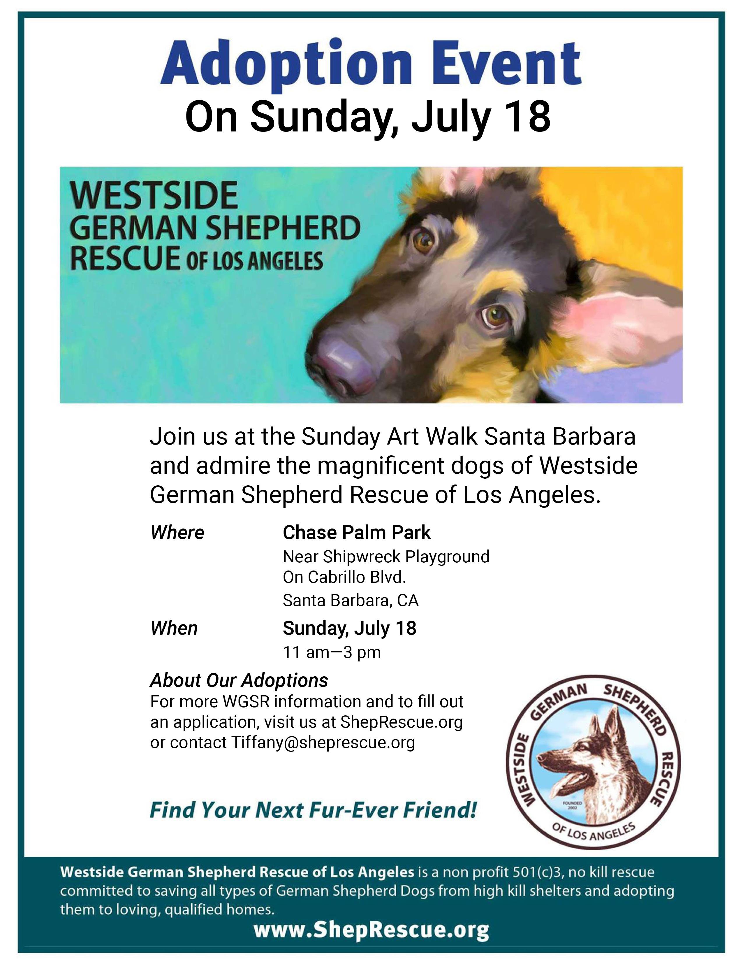 Westside GSR Adoption Event title=