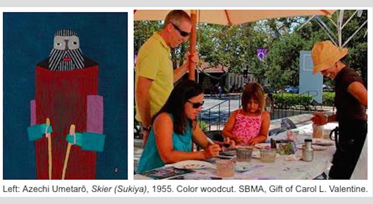 Create an Emboss Print at the Next Free Studio Sunday at SBMA