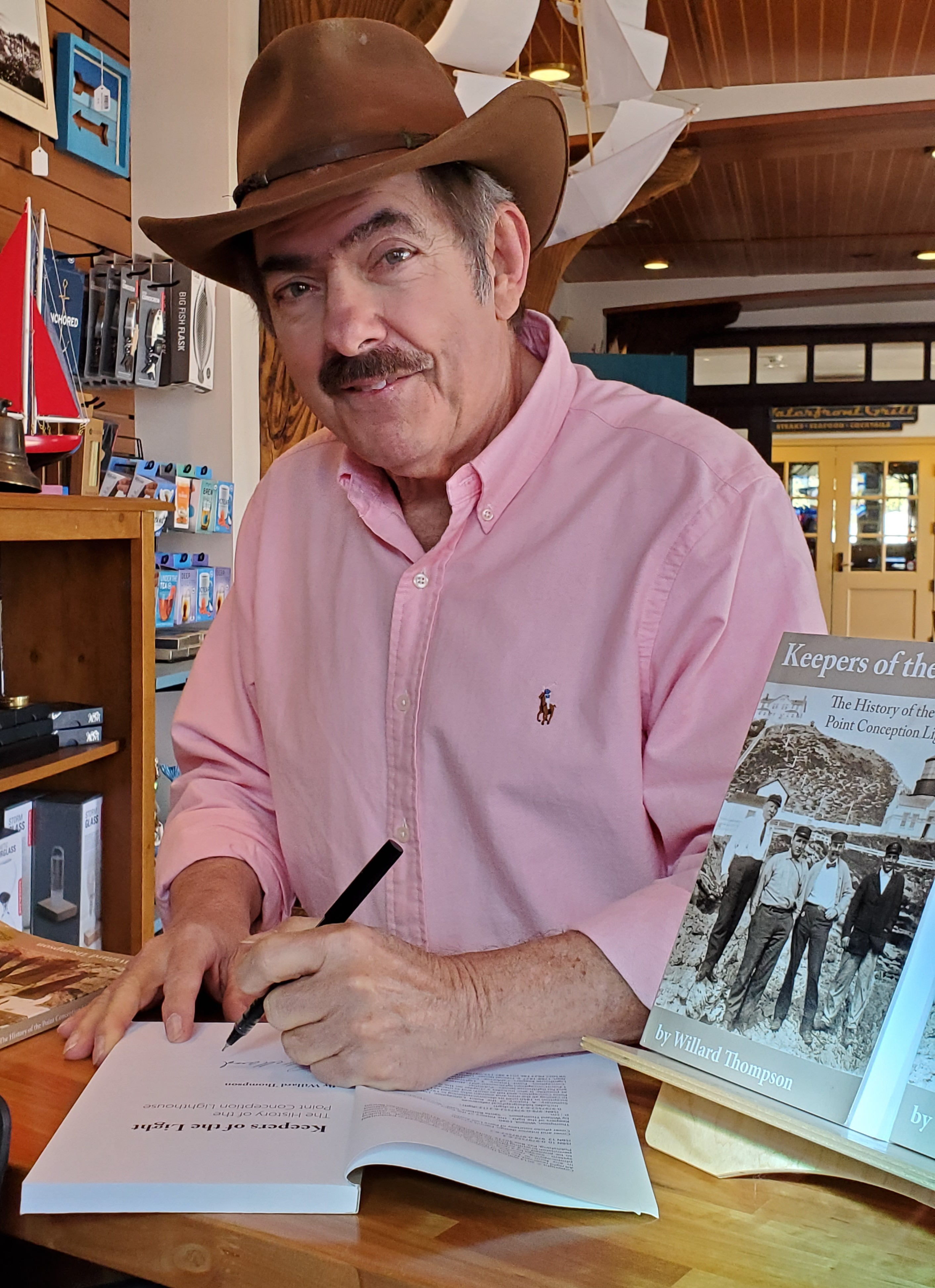 Keepers of the Light: The History of the Point Conception Lighthouse Reading and discussion with local author, Willard Thompson  title=