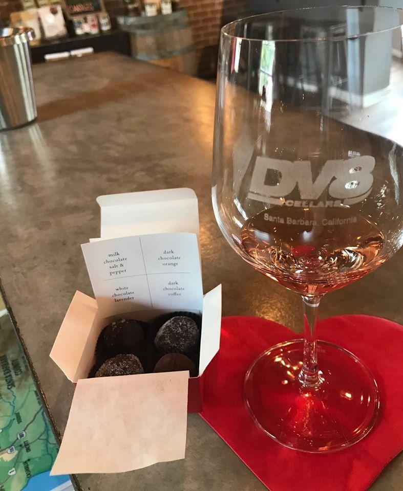 Valentine Wine & Chocolate Truffle Pairing title=