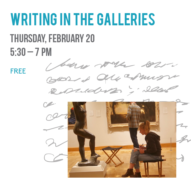 Writing in the Galleries title=