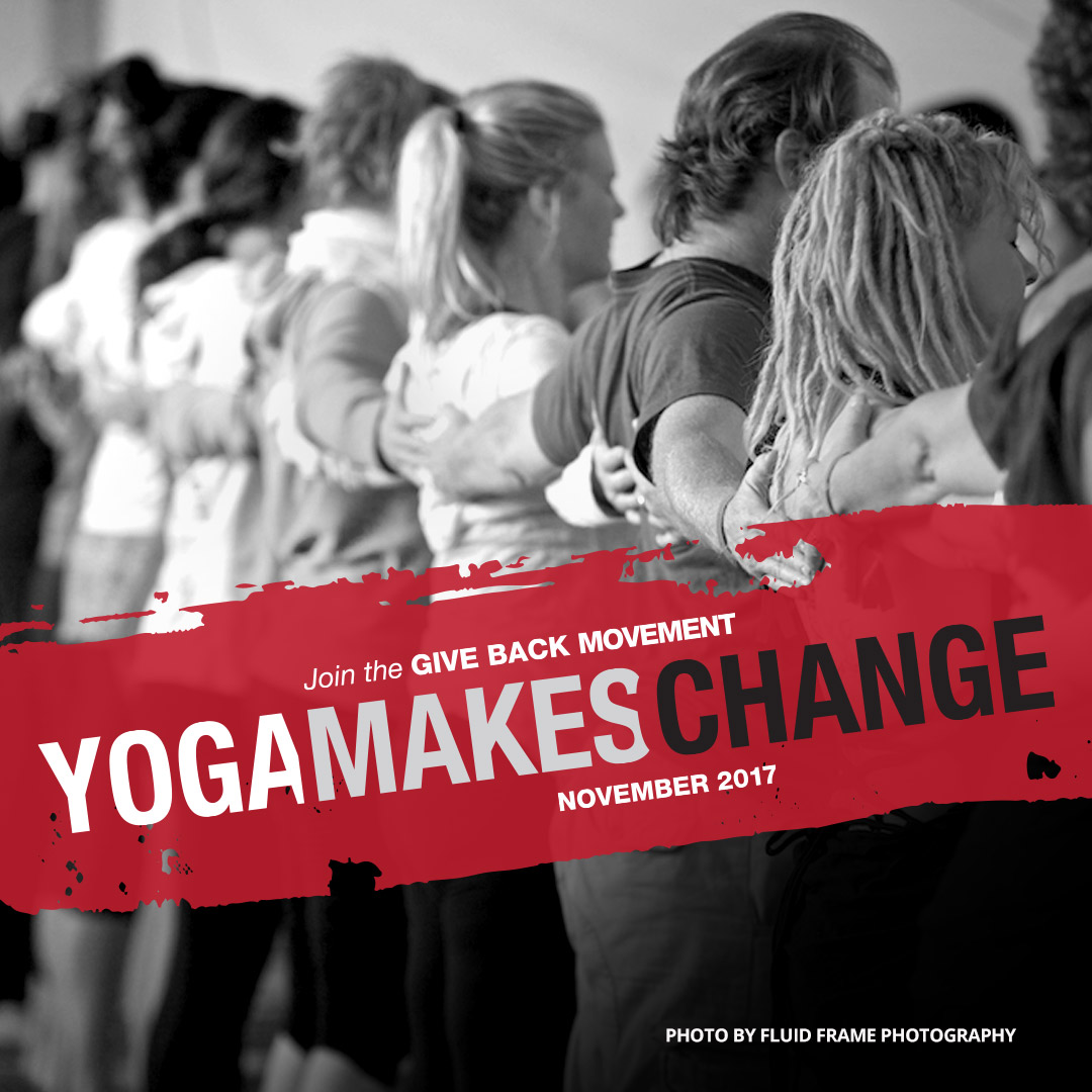 Yoga Makes Change title=