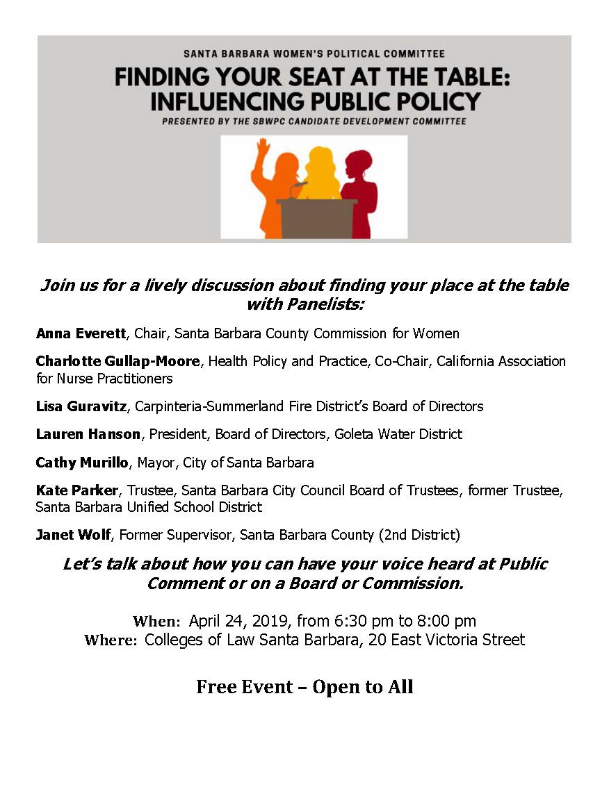 Finding Your Seat at the Table: Influencing Public Policy title=