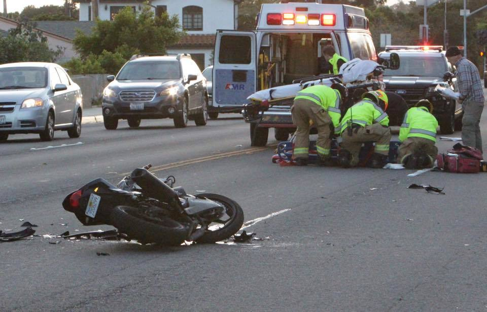 DID YOU WITNESS THE MOTORCYCLE COLLISION ON CLIFF DRIVE?