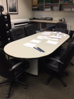 Conference Room Table & 6 Chairs - $450 OBO