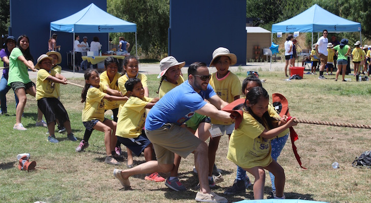 United Way of Santa Barbara County Fun in the Sun Campers Pull for Olympic Glory