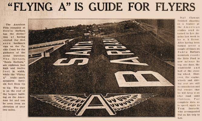 Way Back When: The Largest Sign in Santa Barbara