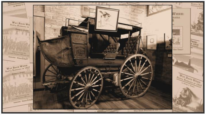 Way Back When: Old Mail Coach Rolls Down State Street title=