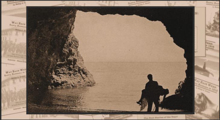 Cecil B. DeMille on Santa Cruz Island title=