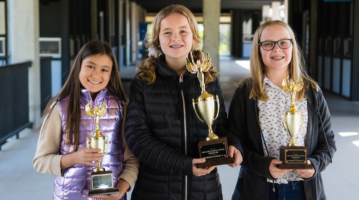 Local Spelling Bee Winners Advance to State Competition
