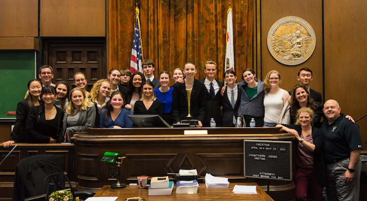 Dos Pueblos High School Mock Trial Takes County Championship title=