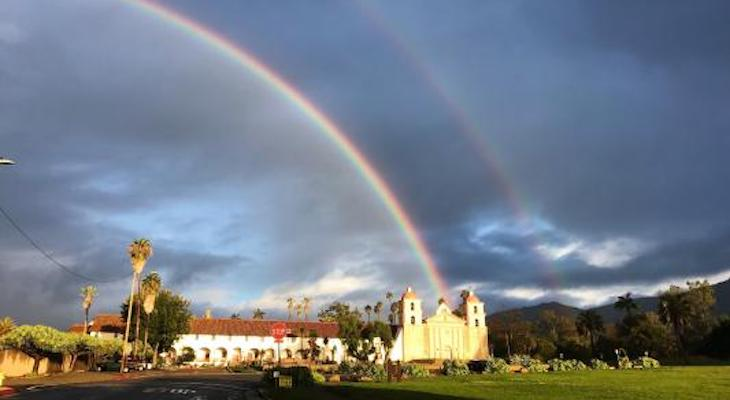 Saturday Morning Rainbow title=