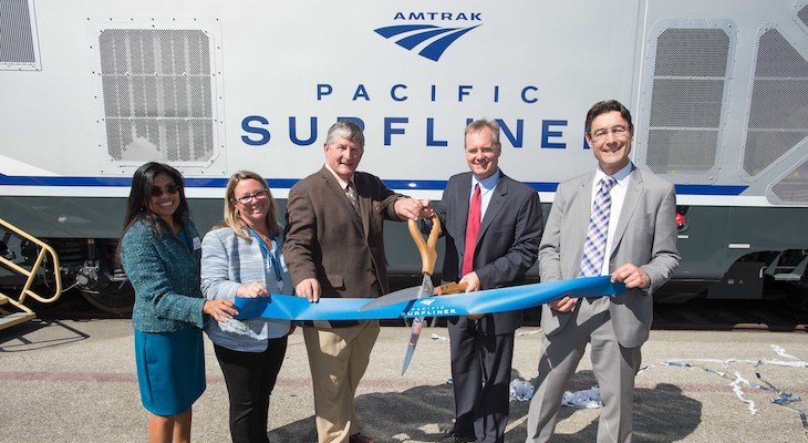 Amtrak and Caltrans Introduce Cleaner Locomotives