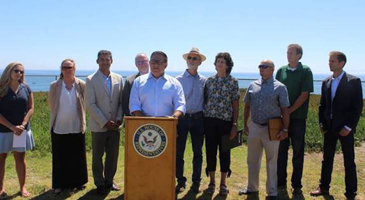Carbajal and Community Leaders Celebrate Offshore Oil Ban title=