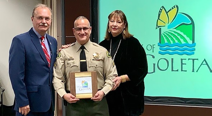 Goleta Thanks Community Resource Deputy