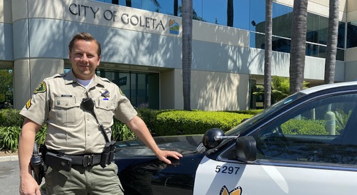 Goleta Welcomes New Chief of Police Services and Community Resource Deputy