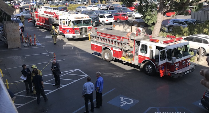 Electrical Fire at Pueblo Radiology title=