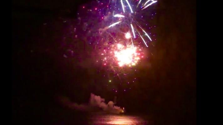 Surprise Fireworks Show from Biltmore title=