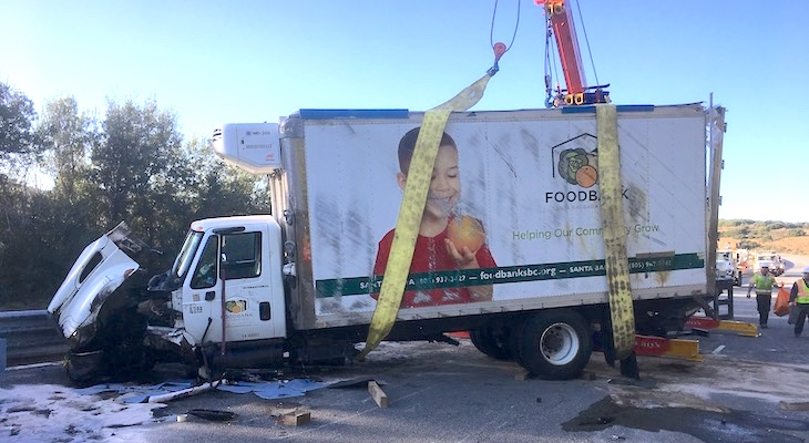 Foodbank Launches Campaign to Replace Damaged Truck