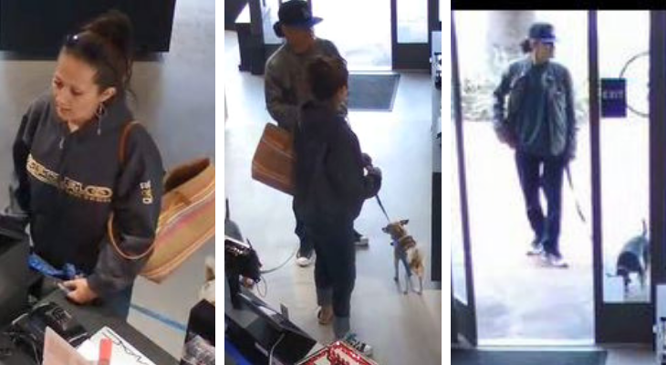 Help Identify Credit Card Fraud Suspects Caught on Video