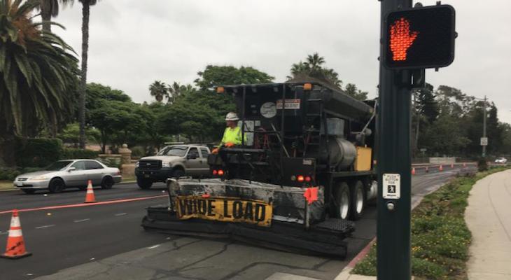 Temporary Road Closure at Garden and Laguna