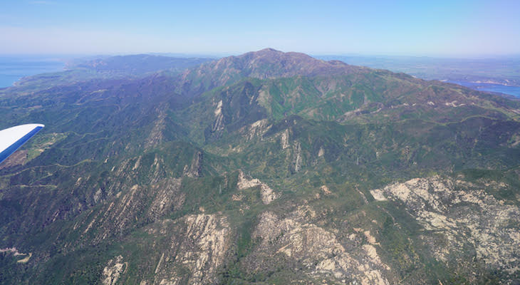 Santa Barbara County Flyover