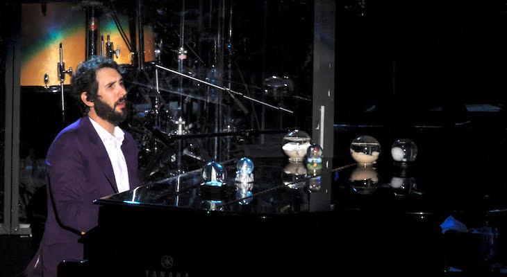 Josh Groban Performs at Santa Barbara Bowl