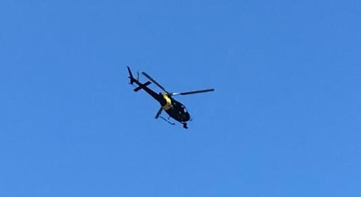Helicopter Over Montecito? title=