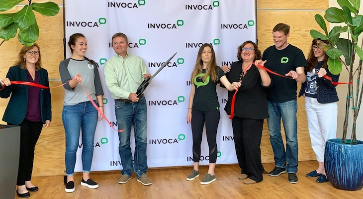 Invoca Hosts Ribbon Cutting of State Street Headquarters title=