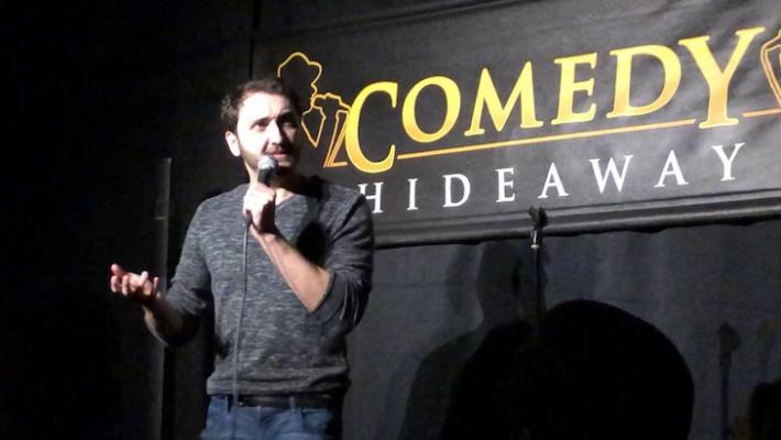Comedy Legend Teams Up with Comedy Hideaway title=