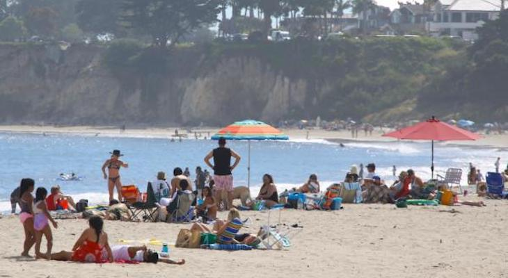 Governor Newsom Only Closes Orange County Beaches title=