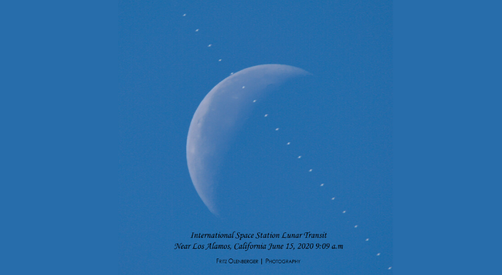 Another ISS Lunar Transit