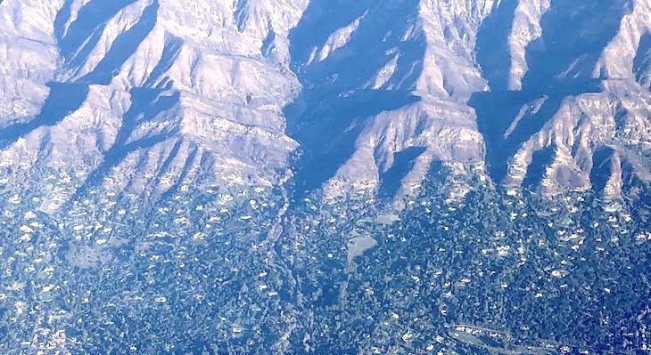 Drainage Basin Aerial Photo