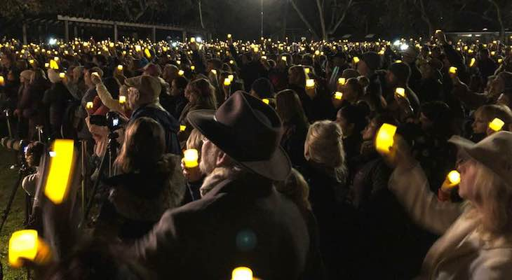 Montecito Raises Light One Year After Debris Flow