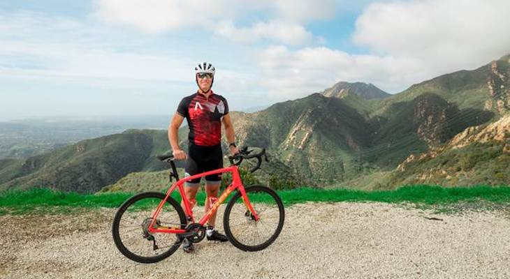 Local Bicyclist Bounces Back After Injury title=