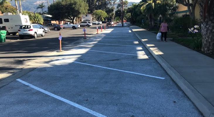 Goleta's Old Town Sidewalk Project Begins Phase 3 of 5 title=