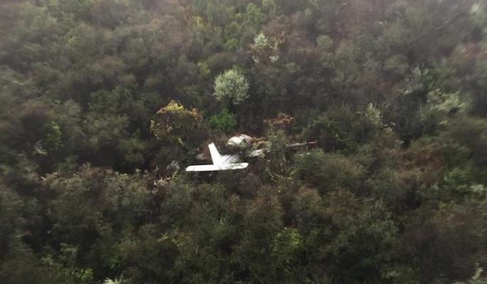Sheriff & Fire Air Support Teams Rescue Plane Crash Victim