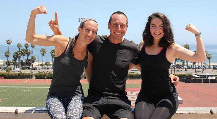RiseUp Fitness Combines Health and Fundraising title=