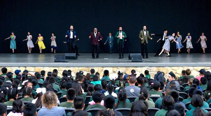 Santa Barbara Bowl Hosts 3000 Santa Barbara Students