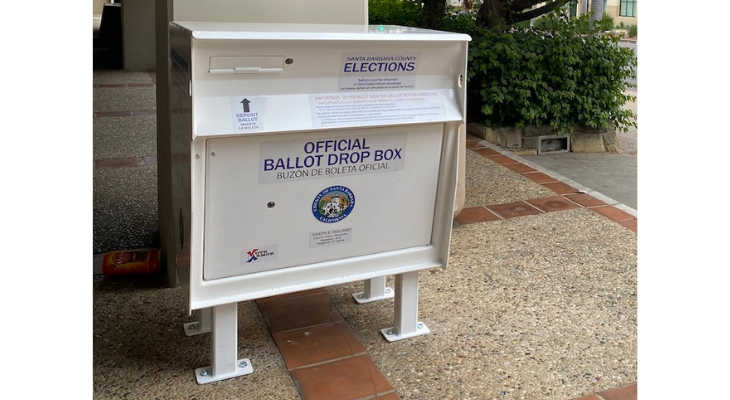 County to Station More than 30 Secure Ballot Drop Boxes