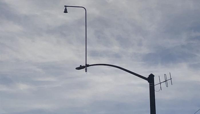 What Are These on the Light Posts?