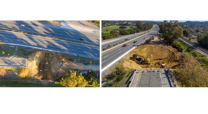 Caltrans Continues Turnpike Sinkhole Repair