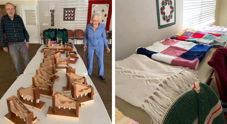 Valle Verde Residents Donate Handmade Gifts