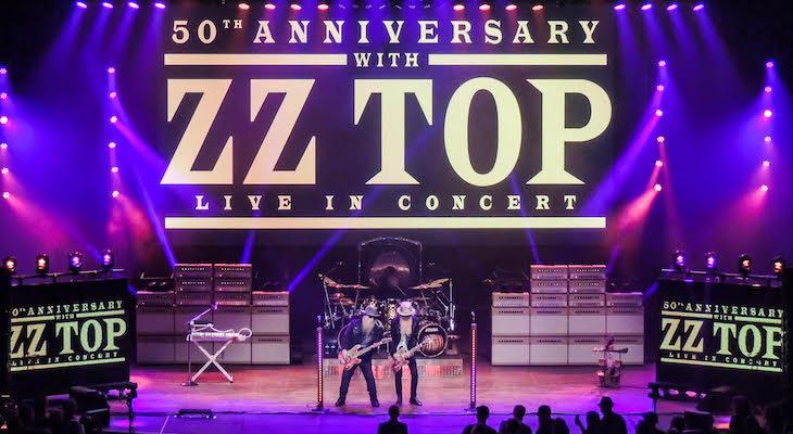 ZZ Top at the Arlington Theater